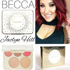 Limited Edition Becca x Jaclyn Hill face palette